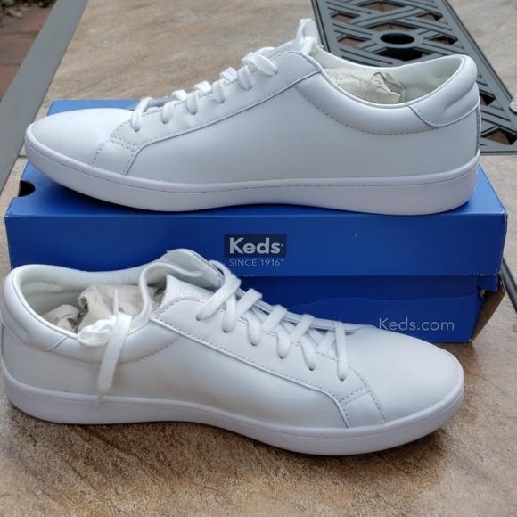 Keds   Kickstart Leather Sneaker   Leather keds, Keds